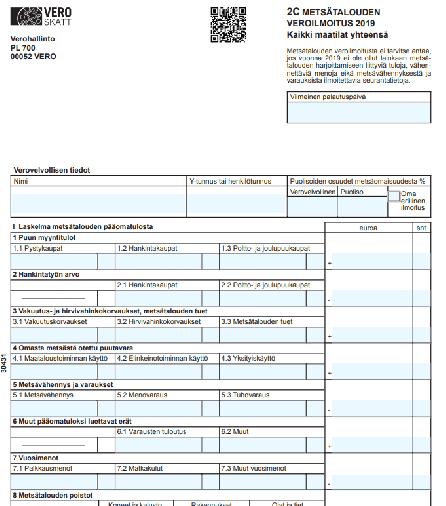 Metsäveroilmoitus lähetetty turhaan yhtymien osakkaille – 156 000 kiinteistöyhtymää lakkaa