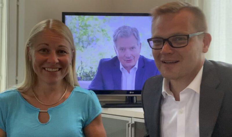 """KATSO VIDEO! Presidentti Sauli Niinistö Seinäjokiselle virtuaalivierailulla: """"Kunnat osoittivat kykynsä vastata korona-haasteeseen. Venäjä-pakotteet pysyvät"""""""