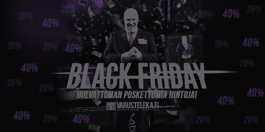 Varusteleka toimii kulutusjuhlaa vastaan: nostaa hintoja Black Fridayna