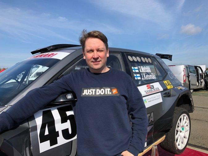 Ketomäki osallistuu Pohjanmaa Ralliin yli 20 vuoden rallikokemuksella