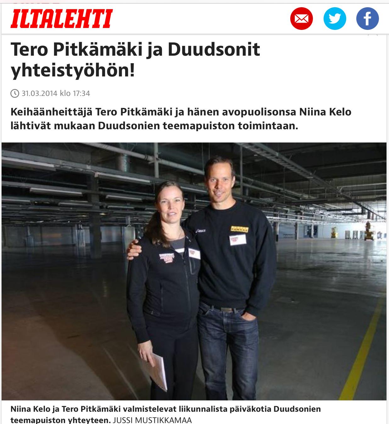 Tero Pitkämäki maksatti Ilmajoen kunnalla lastensa päivähoidon omistamassaan päiväkodissa Seinäjoella – kirjallista sopimusta ei ole