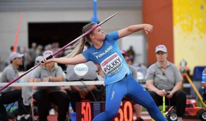 Sofia Pölkky taisteli keihään finaaliin