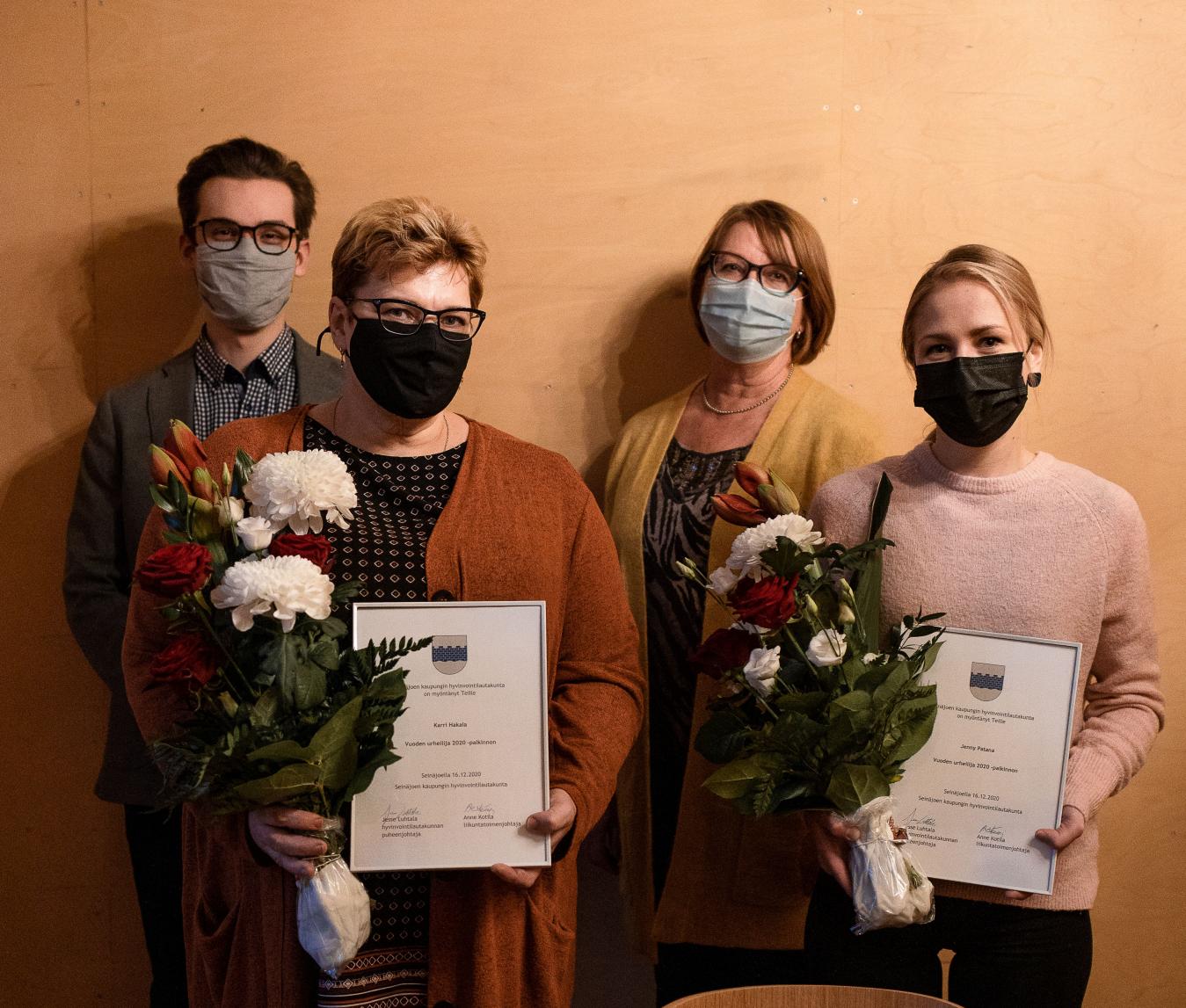 Seinäjoki palkitsi Vuoden 2020 Urheilijat