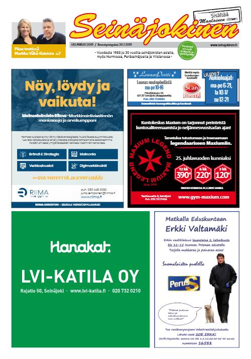 Seinäjokinen 01/2019