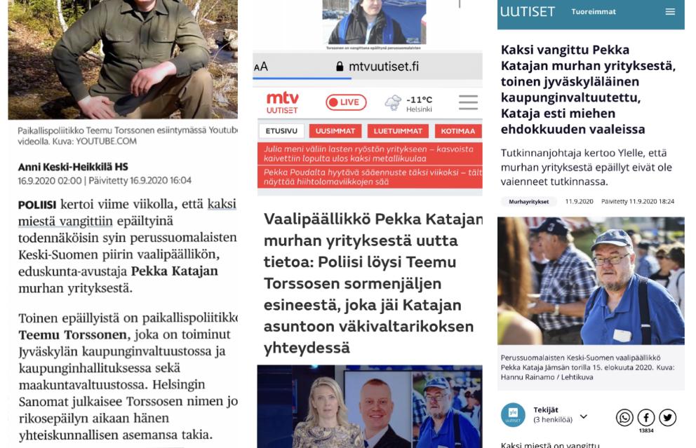 Yle, Helsingin Sanomat ja MTV julkaisivat tuntemattoman paikallispoliitikon nimen murhayrityksestä epäiltynä – syyttäjän mukaan häntä ei epäillä rikoksesta