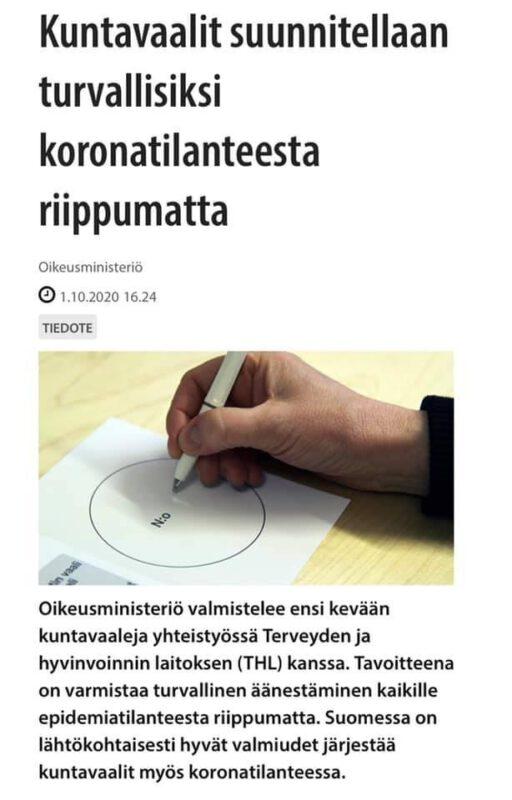 Katso tästä Seinäjoen kuntavaaliehdokkaat – puolueilla kattavat ehdokaslistat