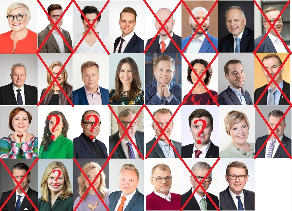 Analyysi: Keskustan kansanedustajista tippuu 14 eduskuntavaaleissa 2023